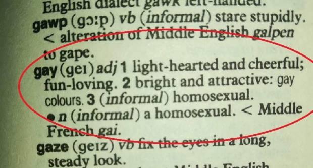 Gay nije ped.., gay je samo sretna, vesela osoba...!?