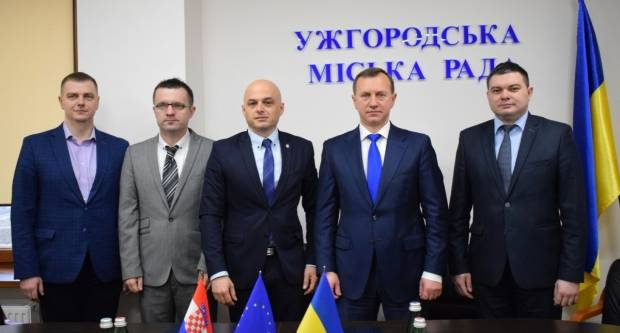 Potpisan sporazum o bratimljenju između Grada Požege i grada Uzhoroda u Ukrajini