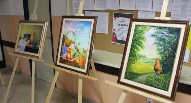 Pakračkoj Bolnici uručena donacija likovnih radova