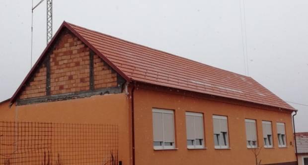 Postavljeno novo krovište na zgradi Češke besede u Kaptolu