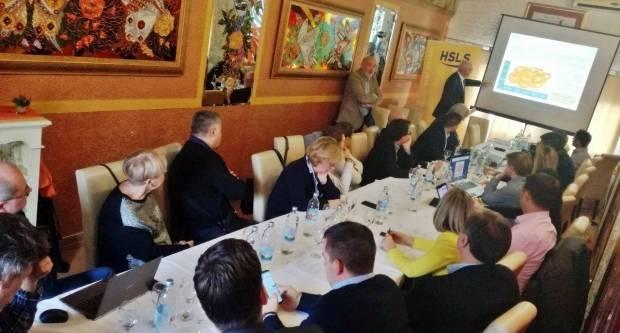 Majer na Savjetovanju HSLS-a s Manfredom Richterom u Velikoj Goric