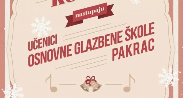 Osnovna glazbena škola Pakrac: Božićni koncert učenika