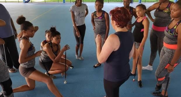 M. Mihelčić opisala svoj rad na Karibima i najavila gostovanje plesača u Parizu