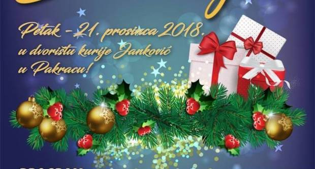 21. PROSINCA Božićni sajam u kuriji Janković