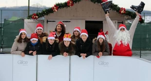 U Pleternici otvoreno klizalište i održan Božićni sajam