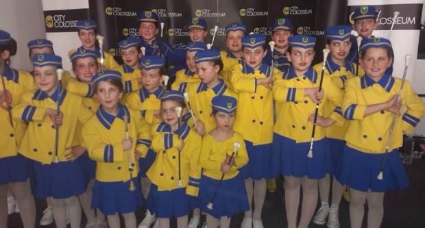 Pleterničke mažoretkinje sudjelovale na plesnom kupu u Sl. Brodu