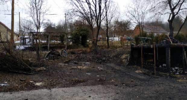 U požaru u N. Ljeskovici jedna osoba ozlijeđena, u tijeku očevid