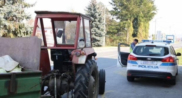 Vikend obilježili pijani traktoristi- jedan traktorom pokosio ogradu i uletio u dvorište, drugi imao 2,63 promila