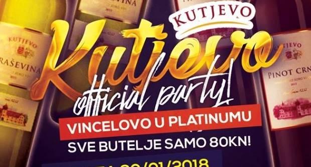 Kutjevo Party u Platinumu povodom Vincelova
