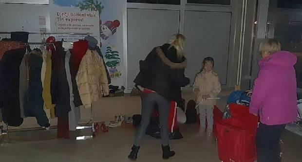 U prvom danu akcije prikupljeno 50 jakni, odmah je 20 podijeljeno potrbitima