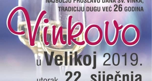 Dobra vina, slavonske delicije, super glazba i neizostavna zabava čekaju vas na Vinkovu u Velikoj