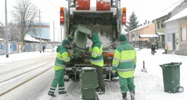 Podsjetnik Komunalca d.o.o. Pakrac za odvoz kartona i papira