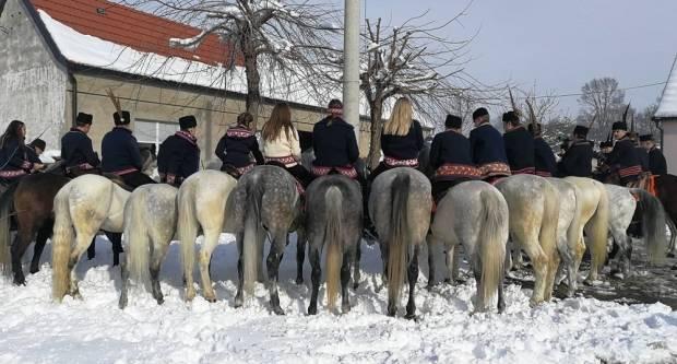 Inati se Slavonijo, pokladno jahanje Velika Kopanica