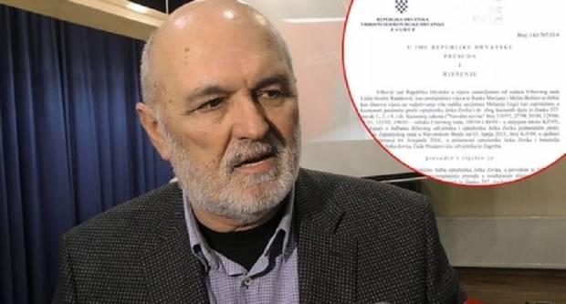 Jerko Zovak nije lopov! Institucionalno politička konstrukcija mu je prišila tu etiketu