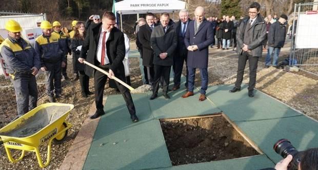 PP PAPUK: Postavljen kamen temeljac za izgradnju Geo-info centra u Voćinu