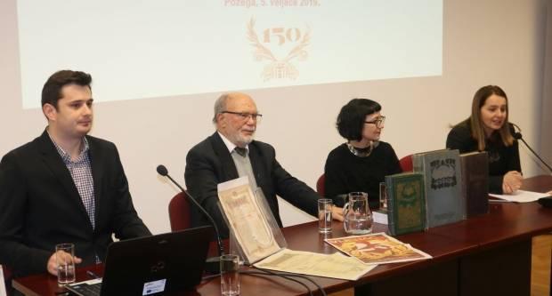 Održana godišnja skupština Matice hrvatske Požega i obilježeno 150. godina Vijenca