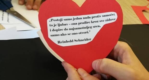 Valentinovo u Gradskoj knjižnici i čitaonici Lipik