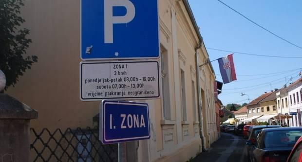 Naplata parkiranja Pakrac: Lani rjeđe plaćali