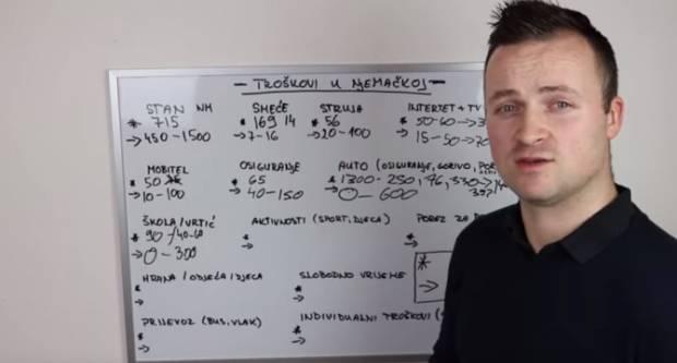 Ivan je izračunao koliko zapravo košta život u Njemačkoj, da ne bi bilo iznenađenja
