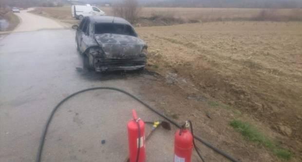 Kod Brestovca automobil izgorio do neprepoznatljivosti