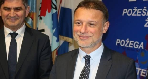 G. Jandroković u Požegi: ʺOčekujem HDZ-ovu pobjedu na parlamentarnim izborimaʺ