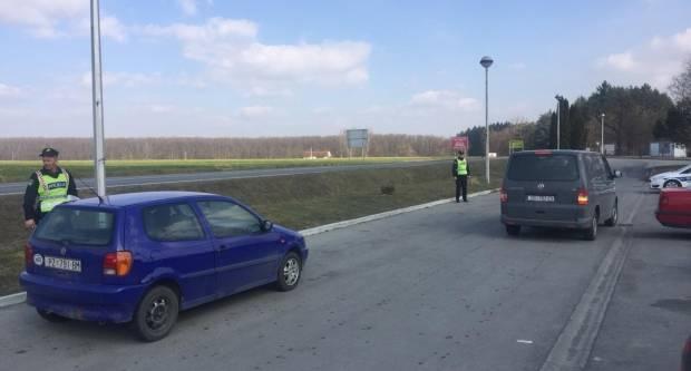 Policija u najavljenoj akciji utvrdila 95 prometnih prekršaja od toga 11 vozilo pod utjecajem alkohola