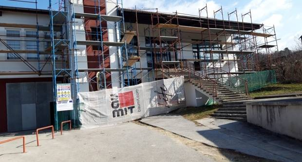 Započela energetska obnova Društveno - vatrogasnog doma u Velikoj