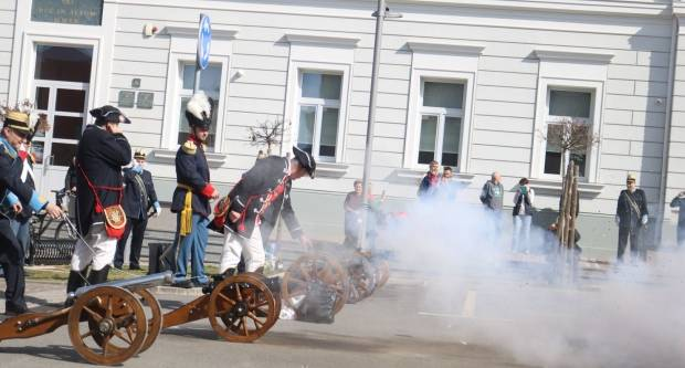 Smotra 22 povijesne postrojbe povodom Grgureva  i subotnja šetnja 9.3.2019