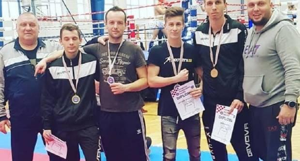 Zlato, dva srebra i bronca za Kickboxing klub Tigar-Brod