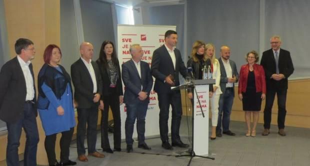 SDP predstavio kandidate za EU izbore: ʺNećemo biti građani drugog reda!ʺ