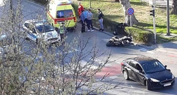 Prometna nesreća u centru grada