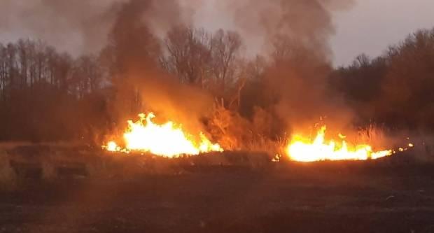 Veliki požar između Alaginaca i Šeovaca