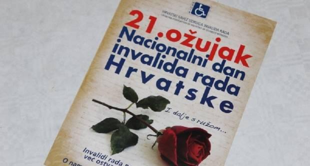 Obilježava se Nacionalni dan invalida rada