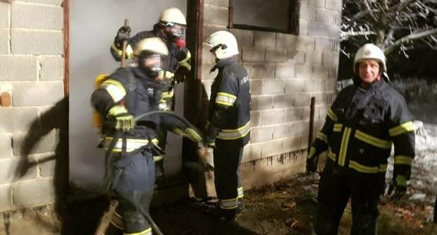Požar u Starom Brestovcu