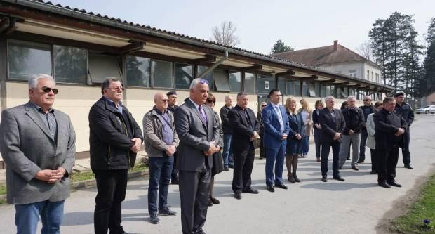 Biskup Škvorčević pohodio Kaznionicu u Požegi