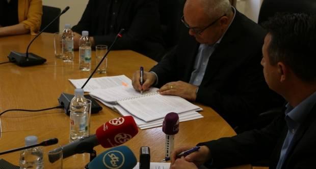 Potpisan ugovor o izgradnji istočne tribine Stadiona kraj Save