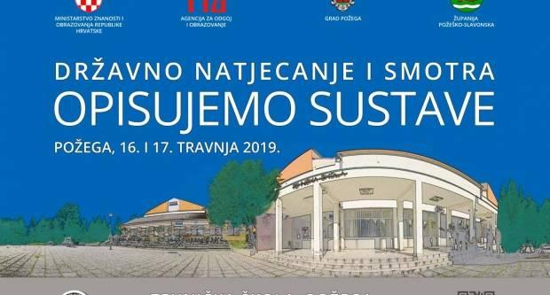 """Tehnička škola u Požegi domaćin je Državnog natjecanja i smotre """"Opisujemo sustave"""" 2019."""
