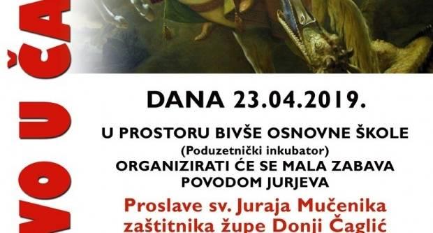 Proslava sv. Juraja Mučenika, zaštitnika župe Donji Čaglić