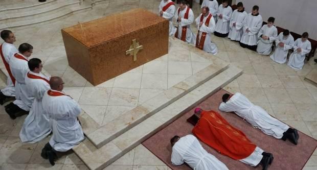 Obred Muke Gospodnje u požeškoj Katedrali