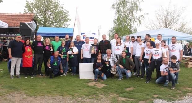 Pobjednici roštiljade Grill Slavonica ekipe iz Bankovaca, Koprivnice i Laslova