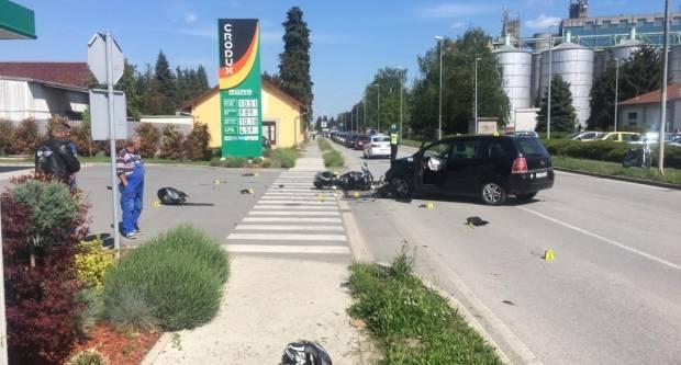 U prometnoj nesreći kod Lidla teško ozlijeđen 34-godišnji motociklist