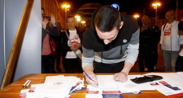 Prikupljeno 247.835 potpisa, Inicijativa alarmira građane da dođu do štandova I potpišu za referendum