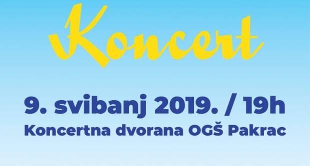 OGŠ Pakrac: Koncert povodom Dana Europe