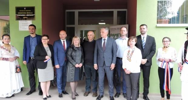 U prekograničnom projektu pametne škole, otvorena energetski obnovljena OŠ Sibinjskih žrtava
