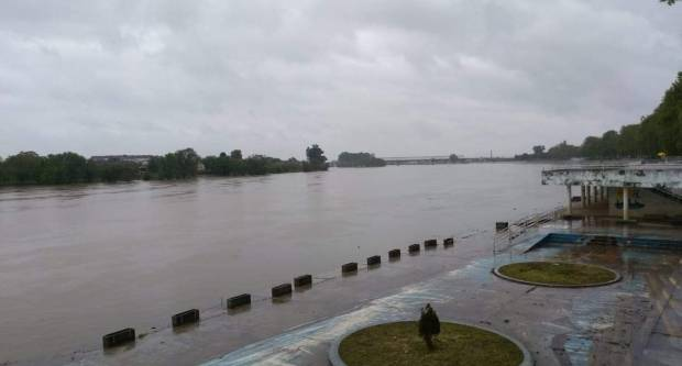 Vodostaj rijeke Save raste dinamikom od 7-8 cm/sat
