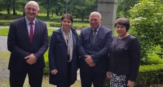 Ukrajinska ministrica za branitelje posjetila Lipik