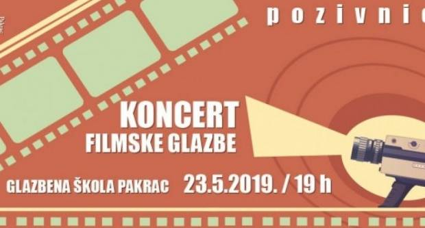 Osnovna glazbena škola Pakrac: Koncert filmske glazbe