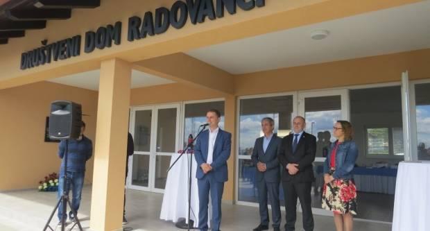 (FOTO) U Radovancima otvoren novi Društveni dom vrijedan 2,3 milijuna kuna