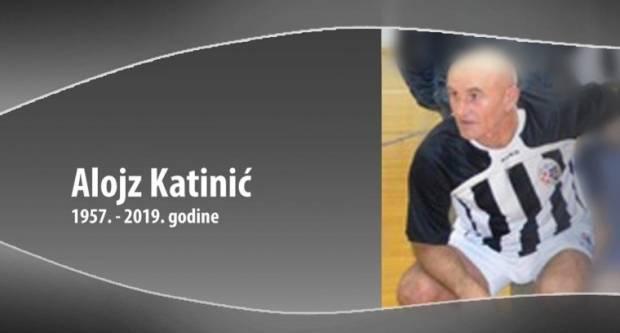 Preminuo je Alojz Katinić - Patak, legendarni nogometaš