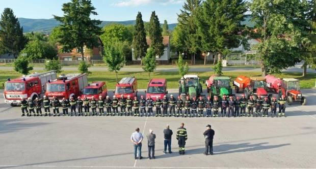 Pokazna vježba Vatrogasnog centra Kaptol